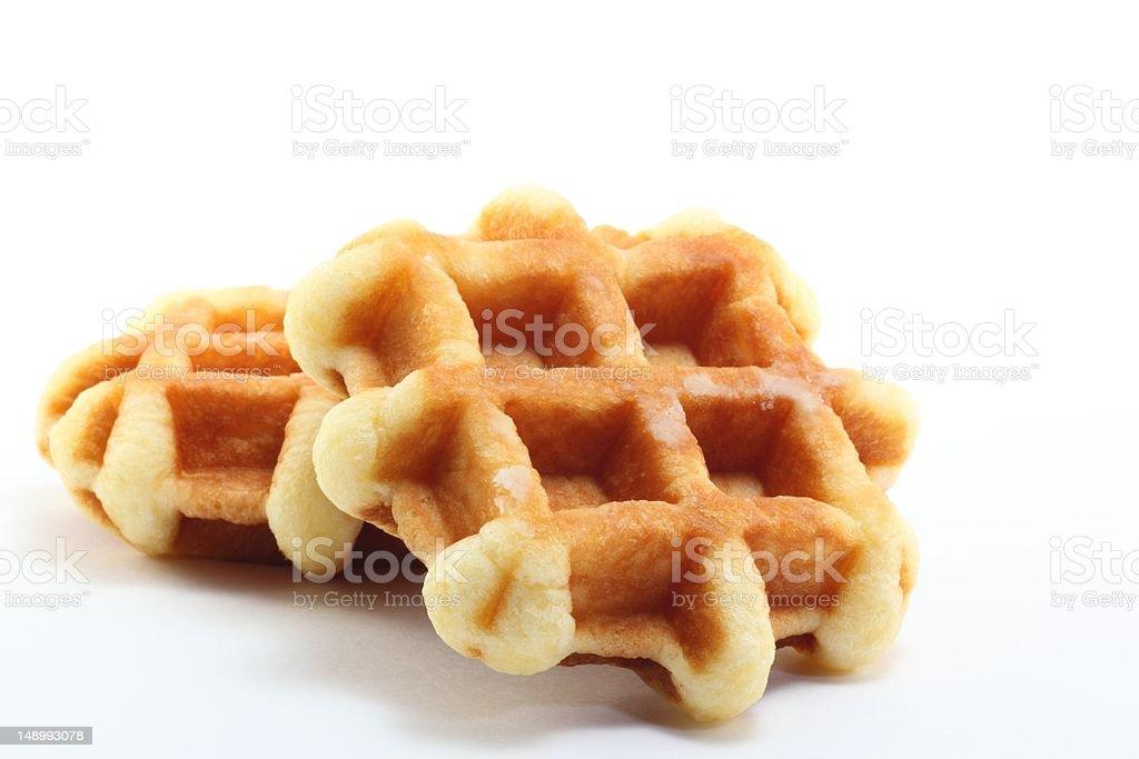 Waffle stock photo