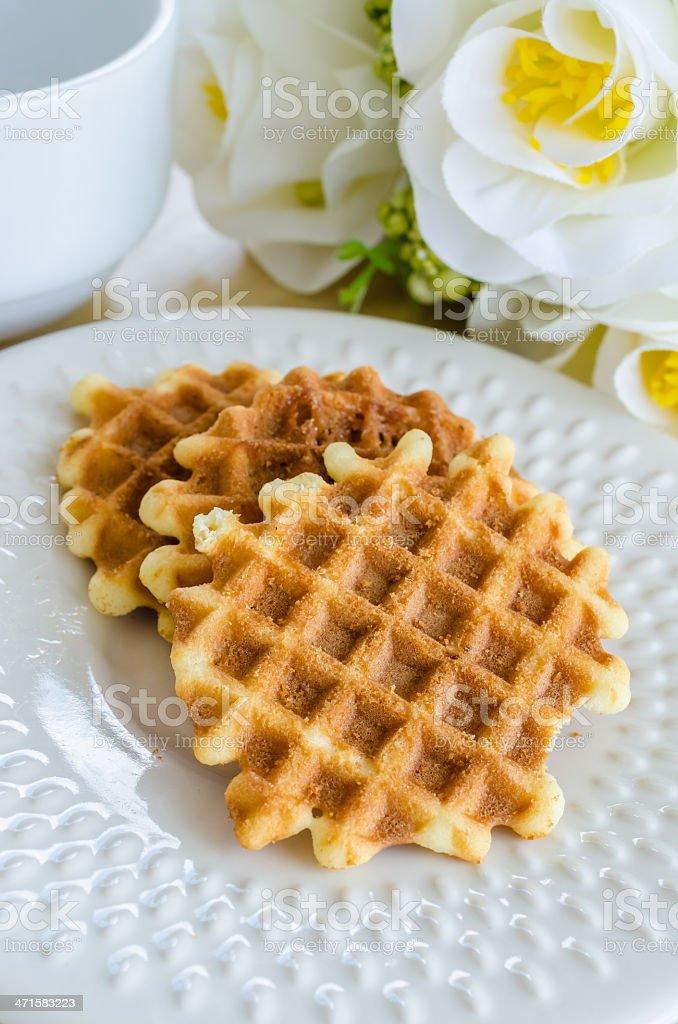 Waffle royalty-free stock photo