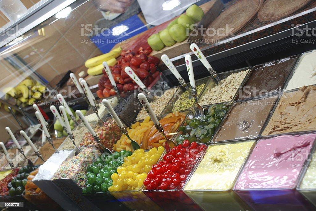 waffle shop royalty-free stock photo