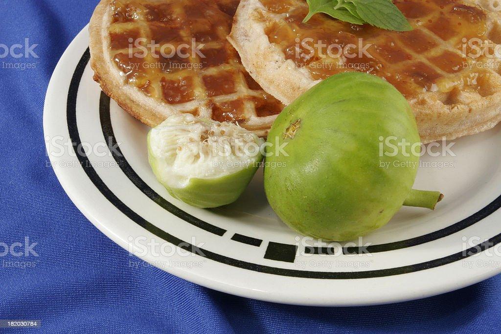 Waffles 10 royalty-free stock photo
