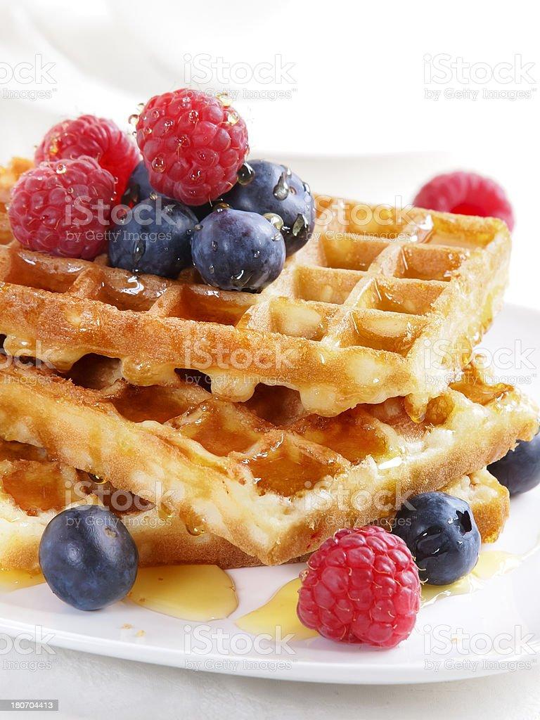 Waffles royalty-free stock photo