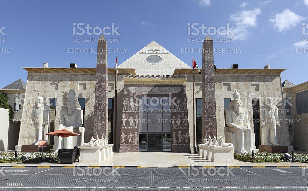 Wafi Mall, Dubai royalty-free stock photo