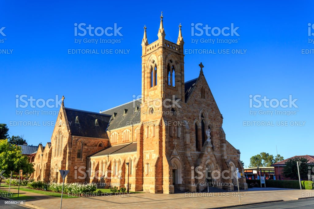 Wagga Wagga – St Michael katholieke kathedraal - Royalty-free 2018 Stockfoto
