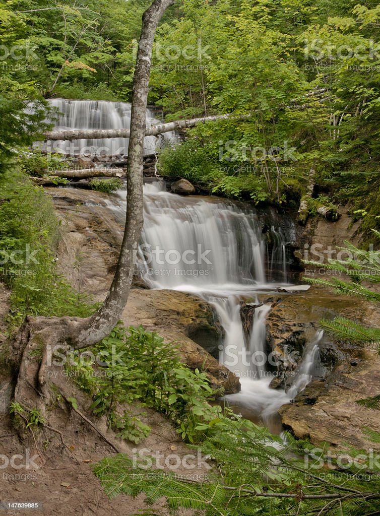 Wagner Falls royalty-free stock photo
