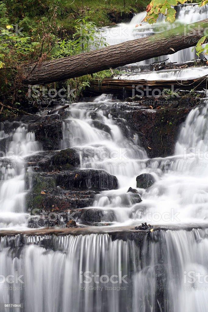 Wagner Falls foto stock royalty-free