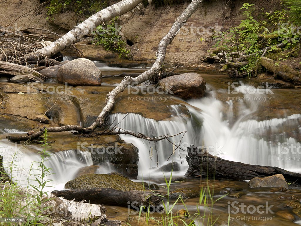 Wagner River royalty-free stock photo