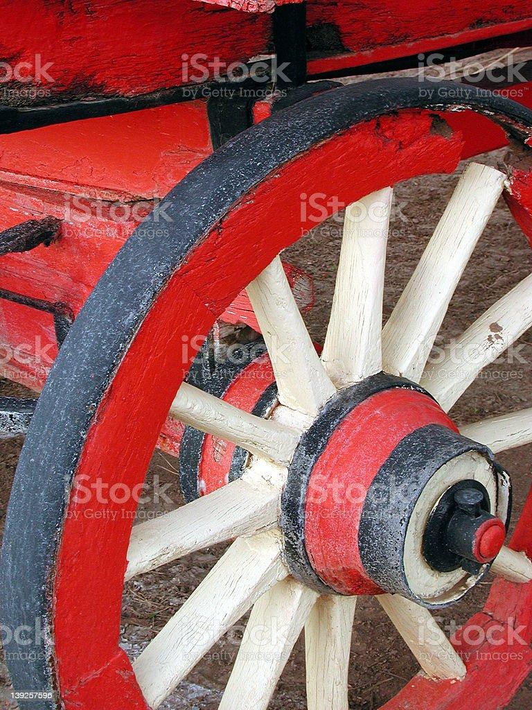 Wagon Wheel 1 royalty-free stock photo
