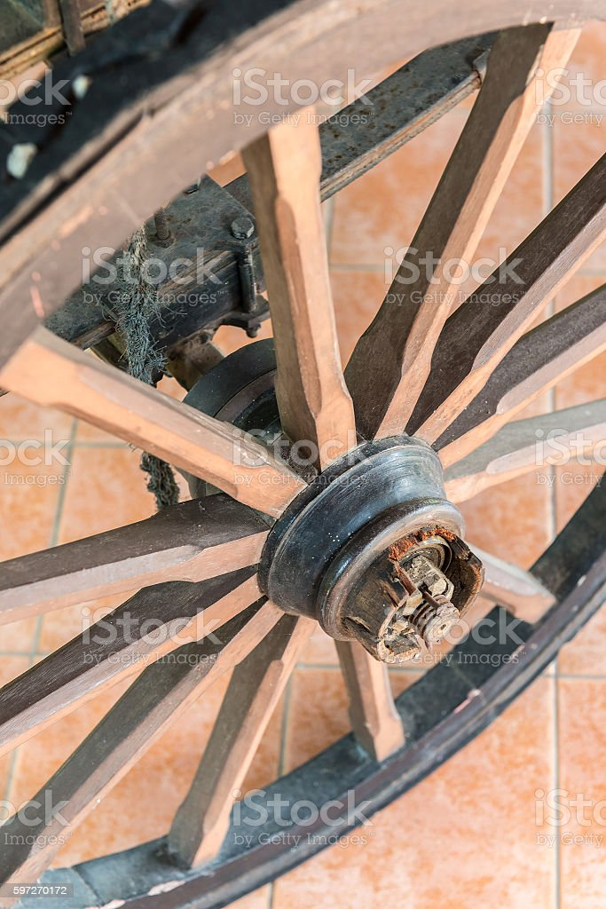 wagon wheel  Lizenzfreies stock-foto