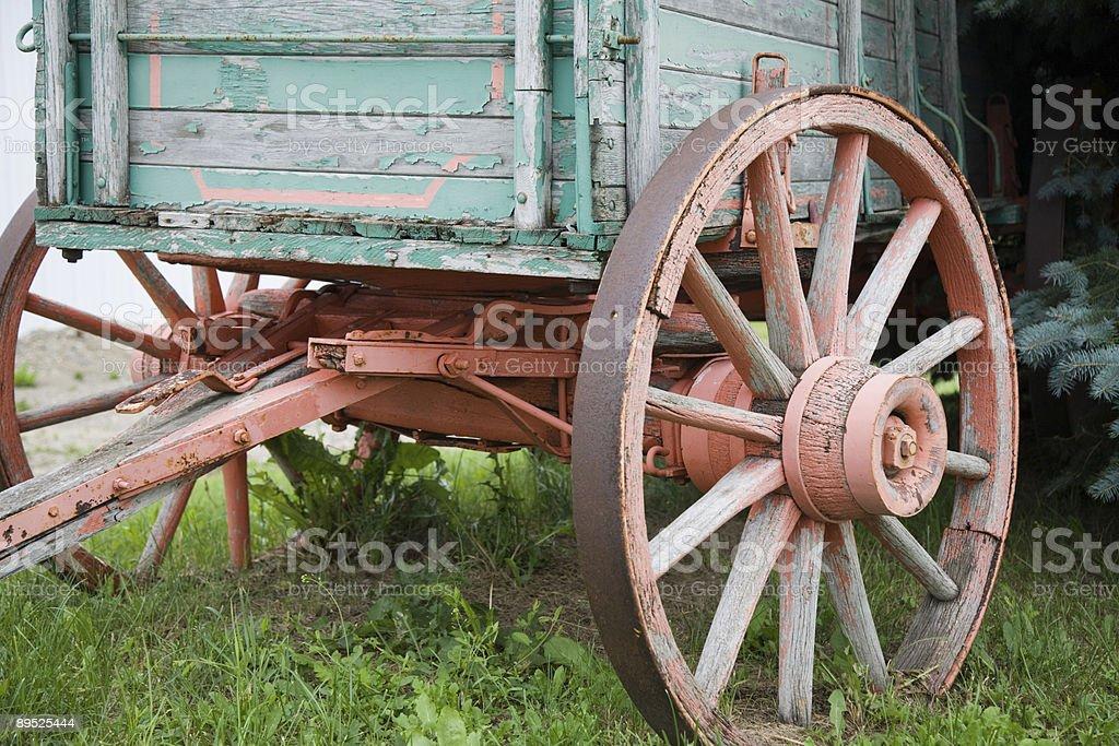 Wagon Wheel 免版稅 stock photo