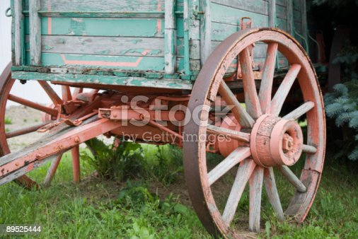 Wagon Wheel Stock Photo & More Pictures of Color Image