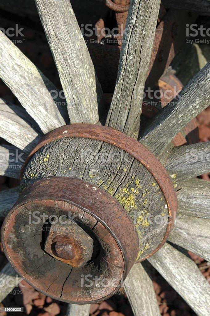 Wagon Wheel Lizenzfreies stock-foto