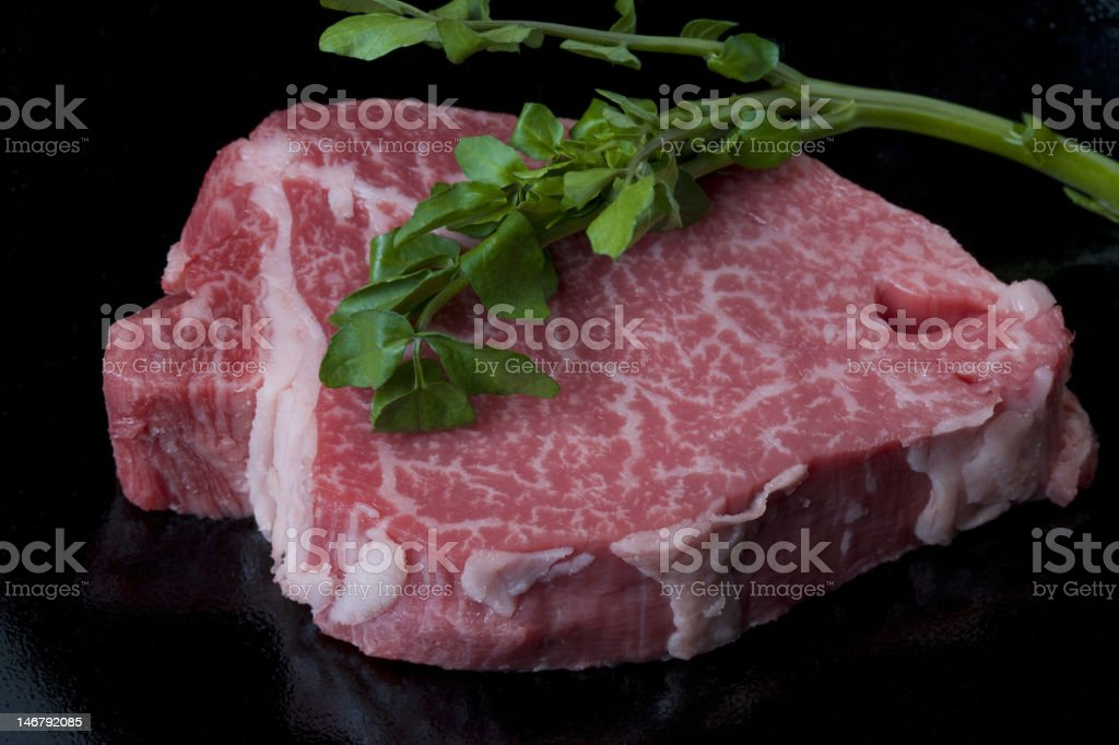Wagyu Steak royalty-free stock photo