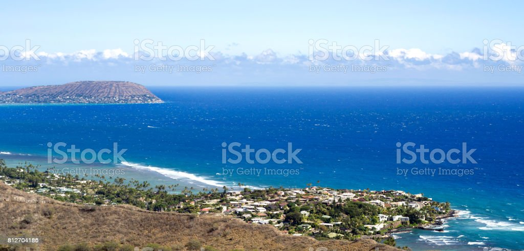 Waialae - Kahala, Honolulu, Hawaii stock photo