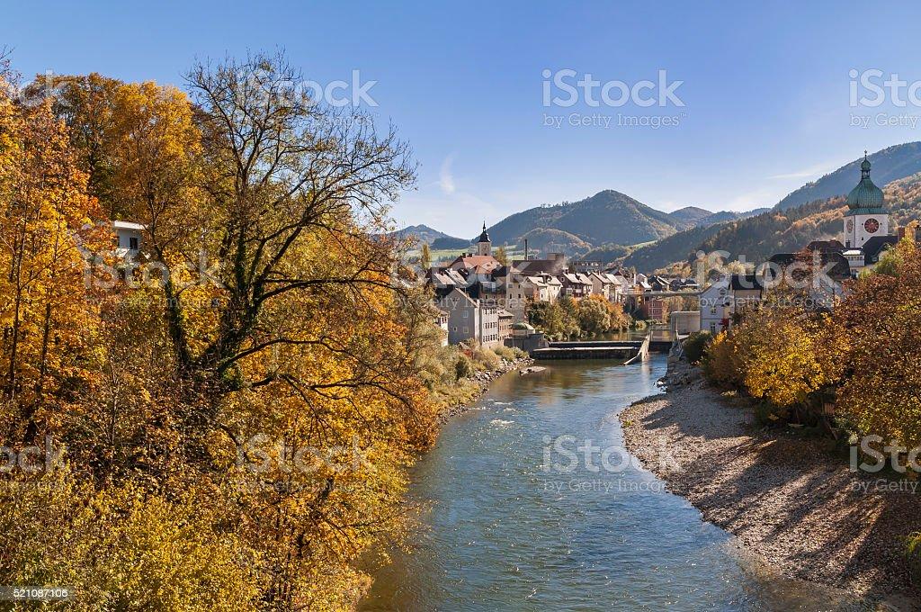 Waidhofen an der Ybbs, Mostviertel region, Lower Austria, Austria, Europe stock photo