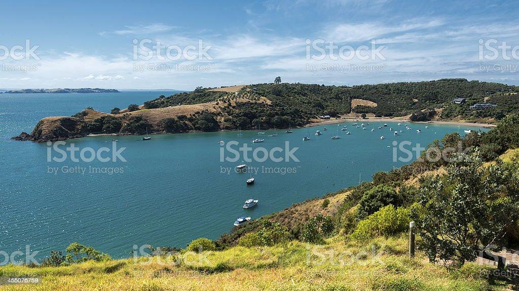 Waiheke Island Landscape stock photo
