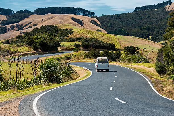 Waiheke Island New Zealand stock photo