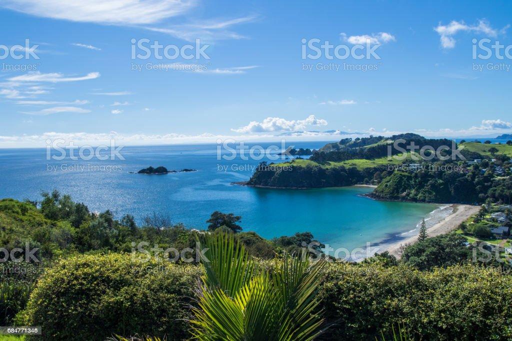 Waiheke Island stock photo