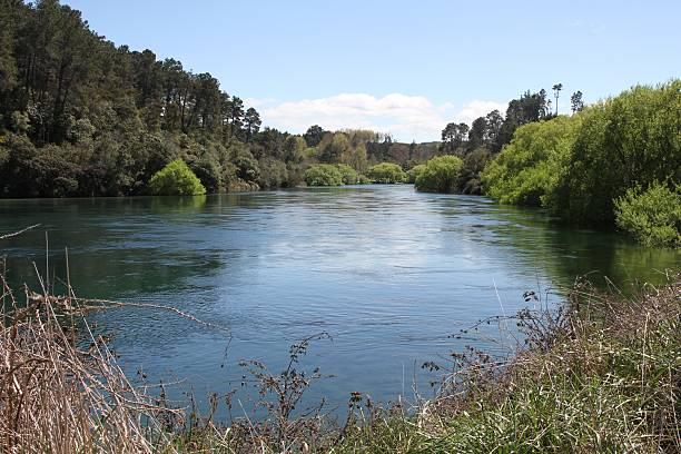 Waikato River near Taupo, New Zealand