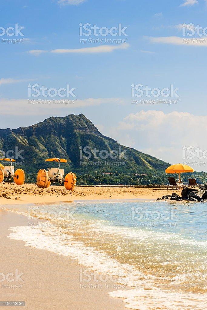 Waikiki Beach stock photo