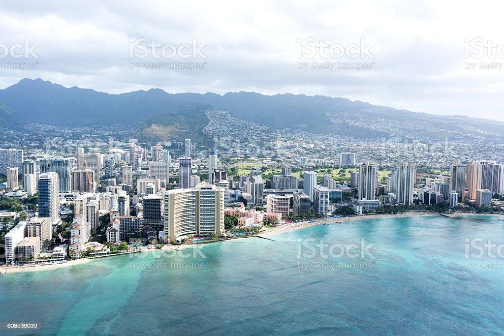 Waikiki, Hawaii stock photo