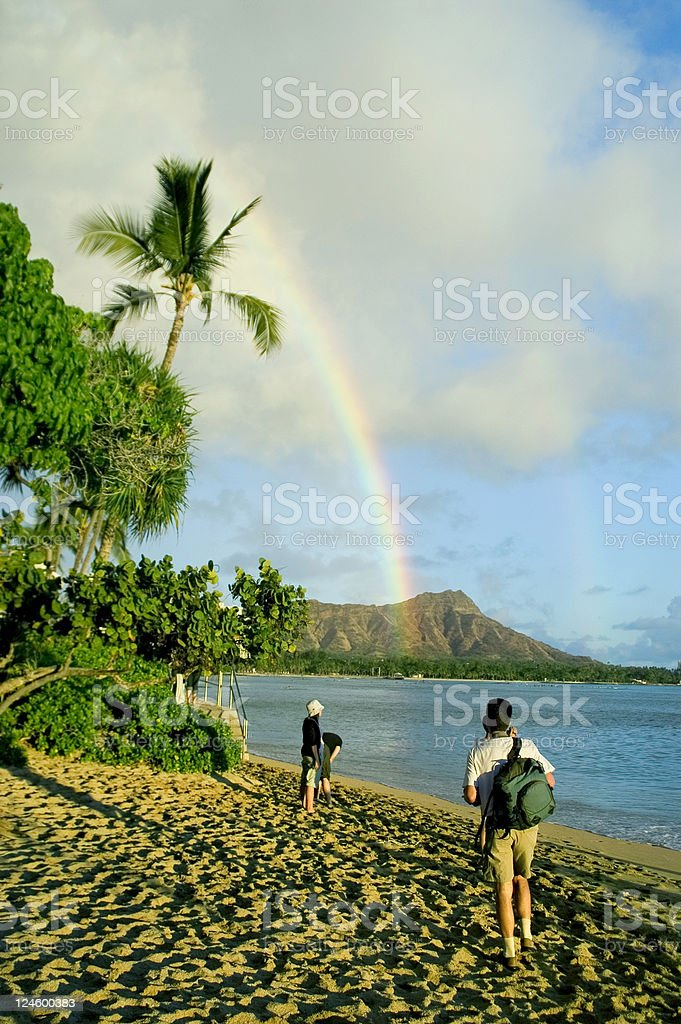 Waikiki royalty-free stock photo