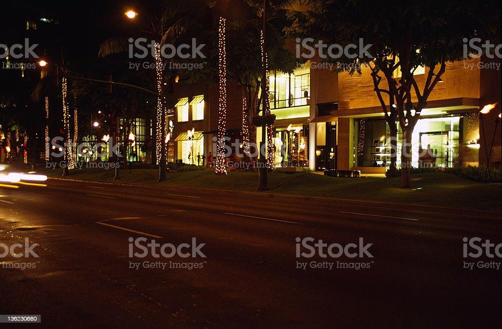 Waikiki Shopping stock photo