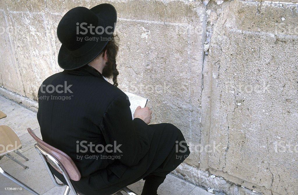 Wailing Wall Jerusalem royalty-free stock photo