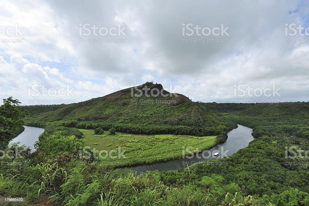 Wailua River State Park stock photo