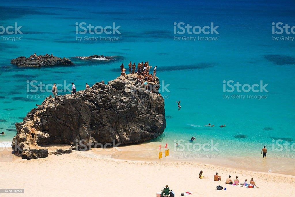 Waimea Beach stock photo