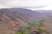 Waimea Canyon in Kauai Island