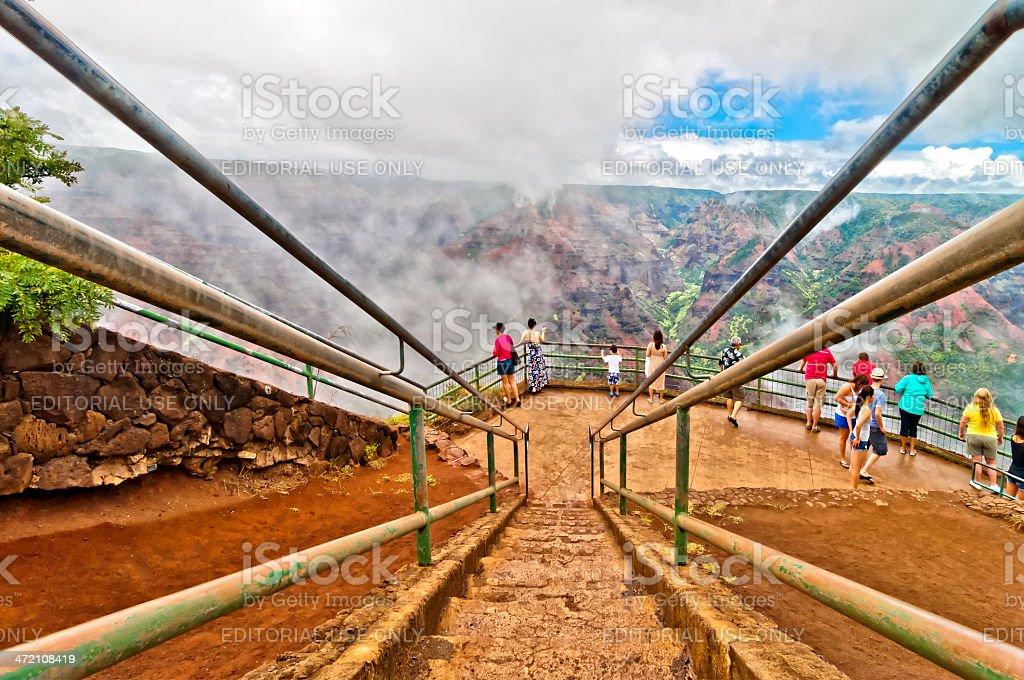 Waimea Canyon, Kauai Island, Hawaii, USA stock photo