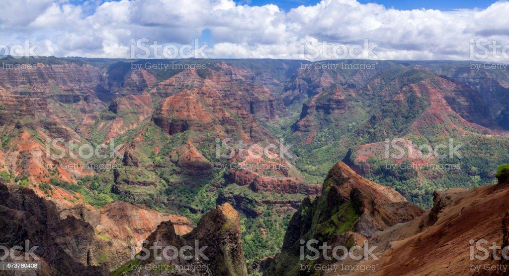 Waimea Canyon, Kauai photo libre de droits