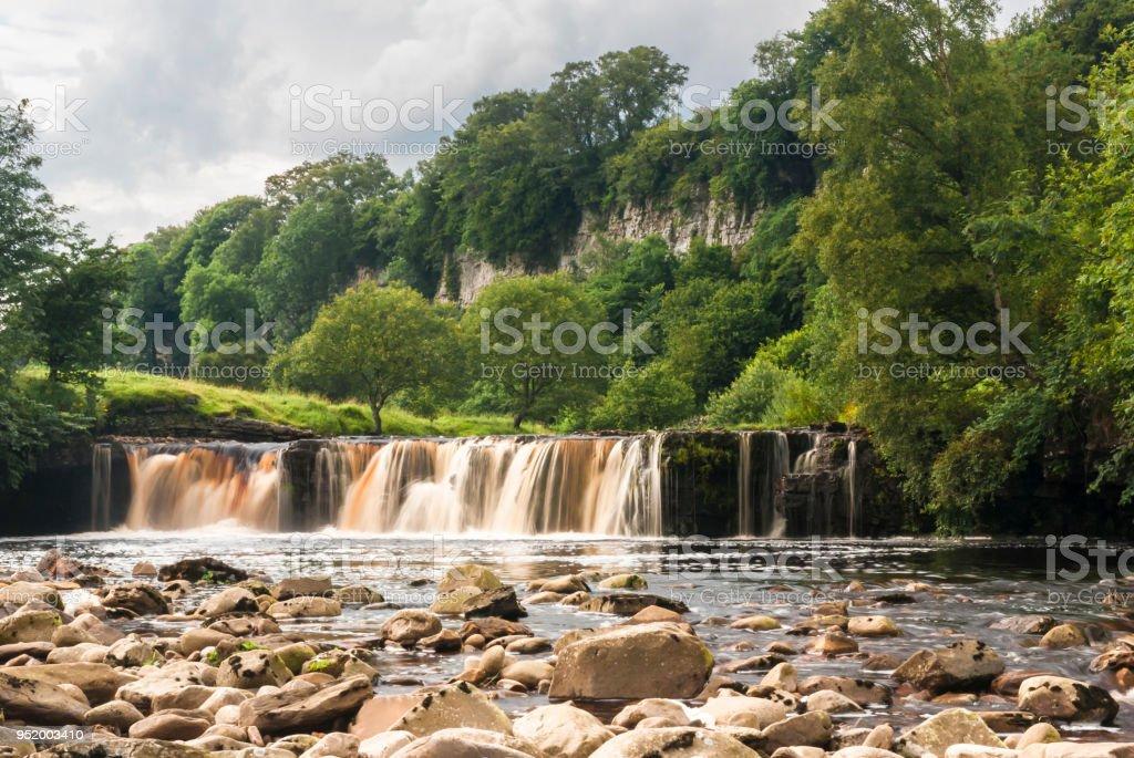 Wain Wath Falls stock photo