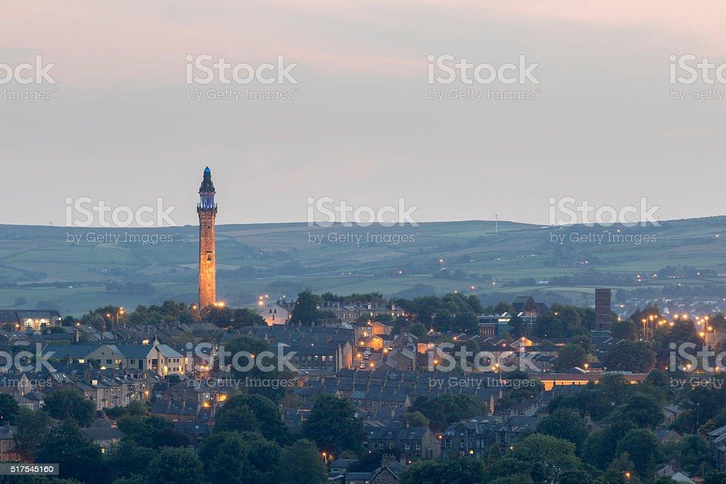 Wainhouse Tower stock photo