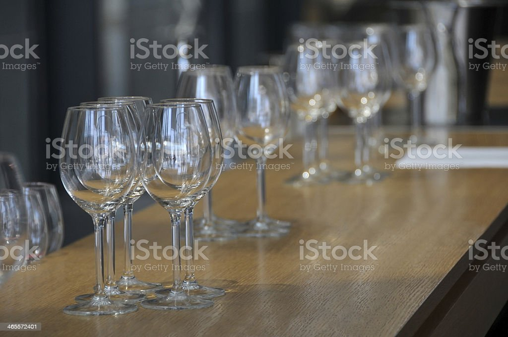 Wainting for banquet royalty-free stock photo