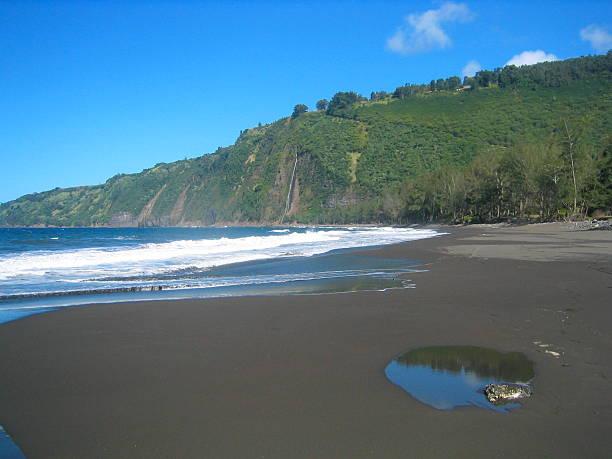 Waipi'o Valley stock photo