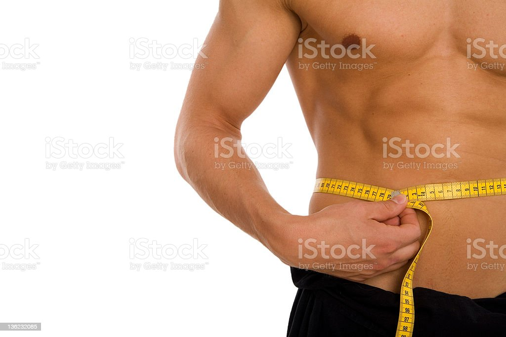 Waist Size royalty-free stock photo