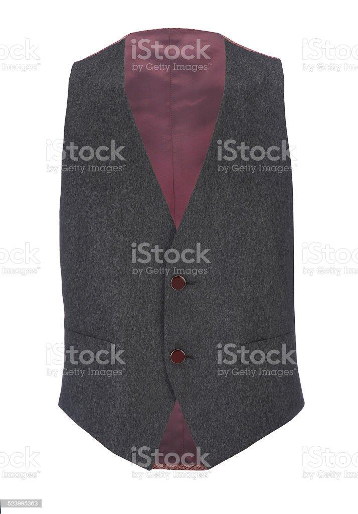 Waistcoat stock photo