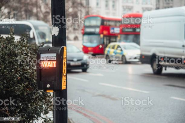 Wait sign for pedestrians in london picture id936279126?b=1&k=6&m=936279126&s=612x612&h=gbe4ruxhpzdts4zvmfybfpjafgcsqqhb unce0udkle=