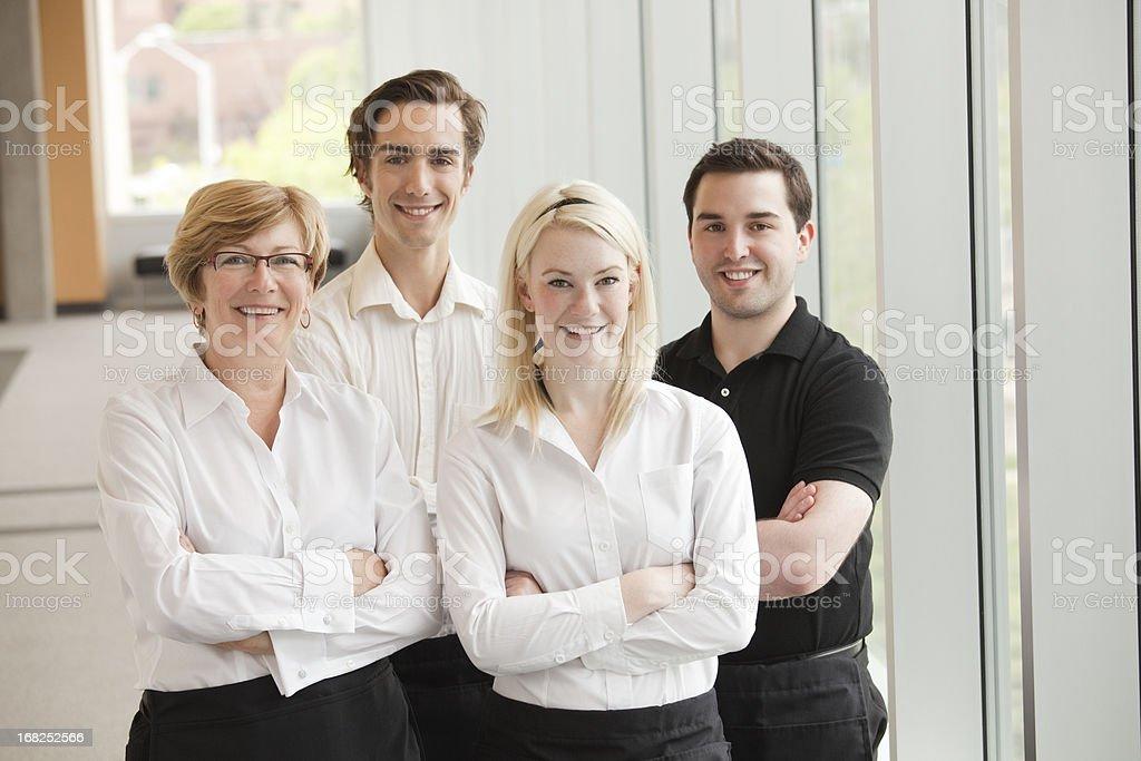 Wait Staff stock photo
