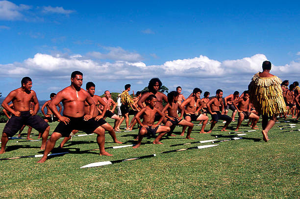 waitangi day - new zealand public holiday - maori stock photos and pictures