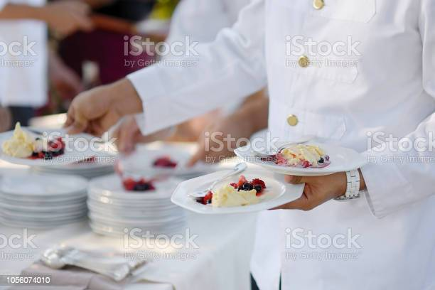 Waiter carrying plates with dessert picture id1056074010?b=1&k=6&m=1056074010&s=612x612&h=pvfaiok4rfd 7 jiendbxkjohmbx 7jmicmn qxqqyi=