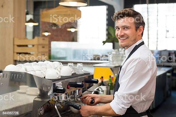Waiter making coffee picture id544352726?b=1&k=6&m=544352726&s=612x612&h=ma br4n a9ektfq8ttnwxyq gzl5uzb amvjyp89jq8=