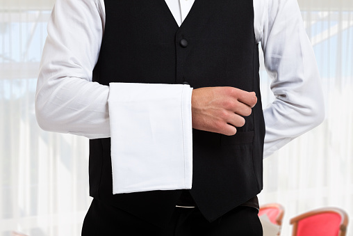 Waiter Stock Photo - Download Image Now