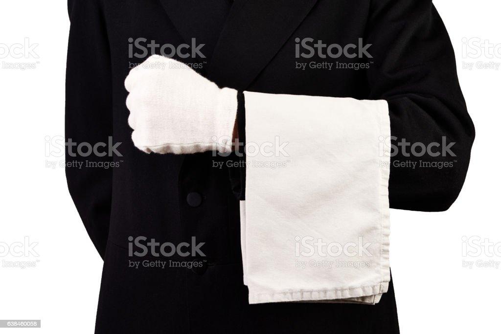 Waiter stock photo