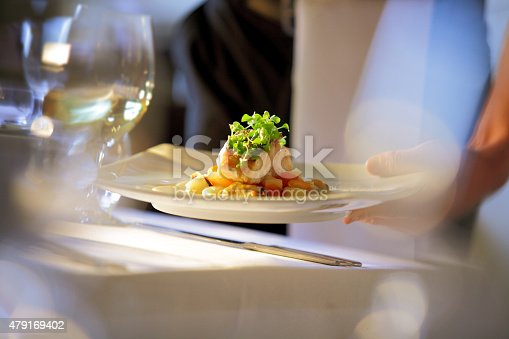 a focus on the career of a waiter