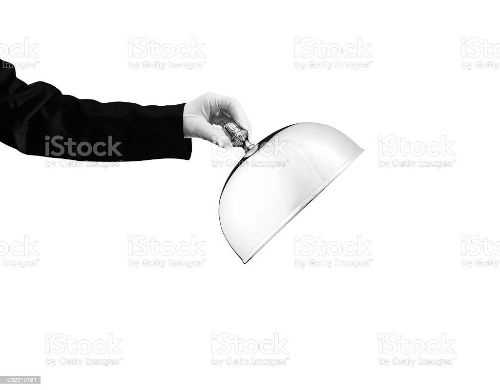 Waiter - Stock Image stock photo