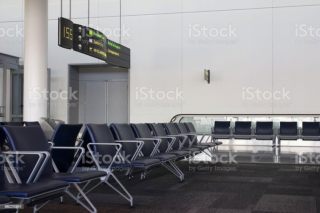 지역 공항 대기 royalty-free 스톡 사진
