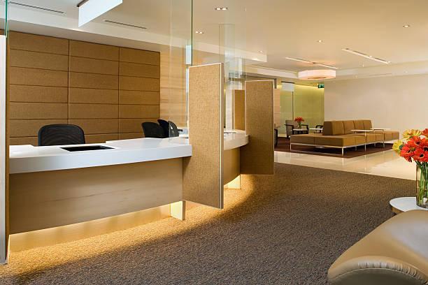 Wartebereich im Inneren eine luxuriöse Gebäude – Foto