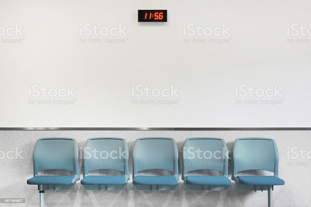 Waiting Area Seating stock photo
